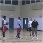 Finishing with Contact Offensive Rebounding Drill
