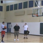 Rebound Tip Out Shot Fake Attack Drill