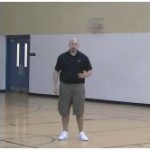 Rebound Tip Out Square Up Shot Drill