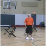 Reverse Between the Legs Double Pin Down Diamond Drill