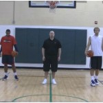 Tennis Ball Toss Behind the Back Competition Drill