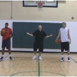 Tennis Ball Toss Crossover Competition Drill