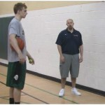 Wall Tennis ball Toss In and Out Rhythm Drill