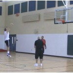 Beat the Pro Sweep 1 Dribble Pull Up Shooting Drill