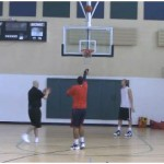 Mid Range Make 2 Miss 2 Shooting Drill