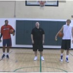 Tennis Ball Toss Reverse Between the Legs Competition Drill