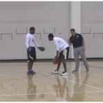 Face the Fire Triple Threat Crossover Basketball Drill