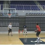 Make Miss 2 Shots in Row 14 Spot Shooting Drill