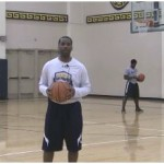 Push Behind the Back Dribble Drill