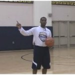 Push Crossover Dribble Drill