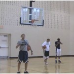 Stagger to Flare 3 Point Shooting Drill