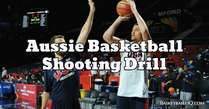 Aussie Basketball Shooting Drill
