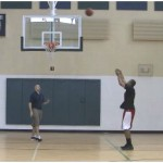 Lane Lines Touch Shooting Drill