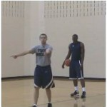 Post Pull Through Inside Hand Finish Post Move Drill