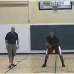 Pound Dribbles Double Between the Legs Dribbling Drill