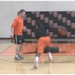 Square Up Shot Fake Pound Dribble Footwork Drill