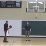 Lane Line Touch Backboard Shooting Drill