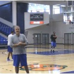 Sideline Shot Fake Side Step 3 Point Shooting Drill