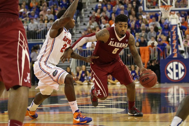 NCAA Basketball: Alabama at Florida