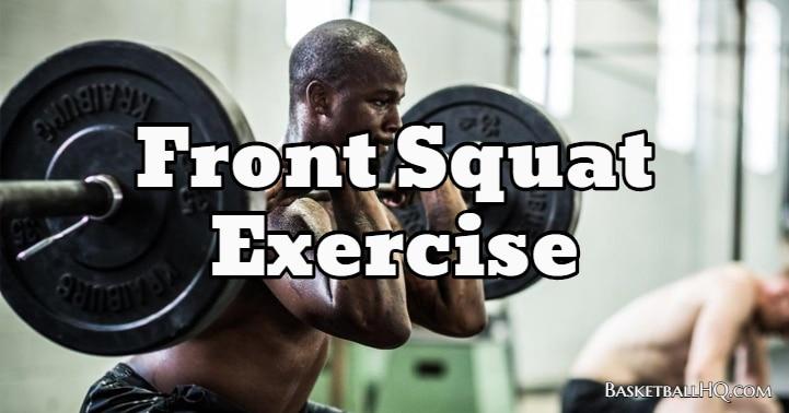 Front Squat Exercise