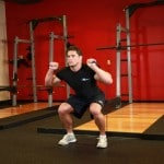 Resistance Ban Speed Squat Exercise