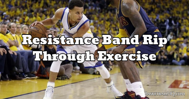 Resistance Band Rip Through Exercise