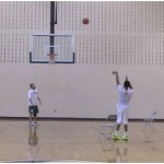 Stephen Curry Basketball Shooting Drill Straight Cut