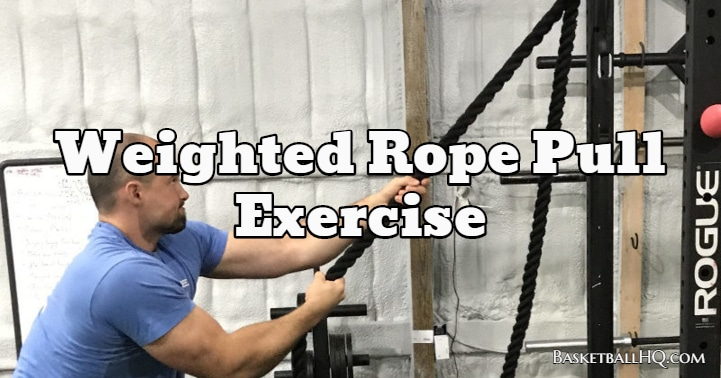 Weighted Rope Pull Exercise