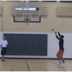 Backboard Touch Shooting Drill