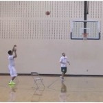 Stephen Curry Basketball Shooting Drill Fade Cut
