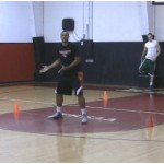 Advanced 4 Cones Defensive Basketball Drill