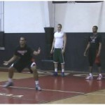 Lane Slides Defensive Drill
