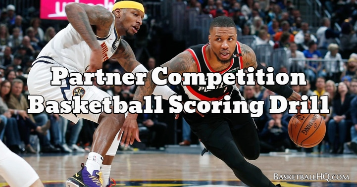 Partner Competition Basketball Scoring Drill