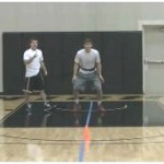Resistance Band Closeout Drill
