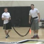 Resistance Band Zig Zag Drill