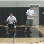 Cone Drop Defensive Slides