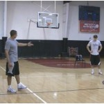 Partner Competition Straight Cut Scoring Drill