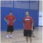 Sprint Away Shooting Drill