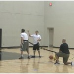 Resistance Band Rebounding Drill