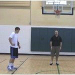 Steve Nash Behind the Back Partner Passing Drill