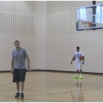 Follow the Leader Two Ball Crossover Dribbling Drill