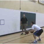 Steve Nash Two Ball Alternating Passing Drill