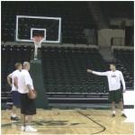 10 Spot Boston Celtics Shooting Drill