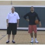In and Out Between the Legs Dribbling Drill