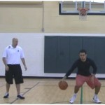 In and Out Reverse Between the Legs Dribbling Drill