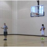 Two Ball Attack Behind the Back Dribbling Drill