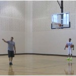 Two Ball Attack Between the Legs Dribbling Drill