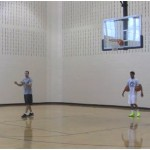 Two Ball Attack Reverse Between the Legs Dribbling Drill