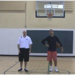 Double Crossover Between the Legs Dribbling Drill
