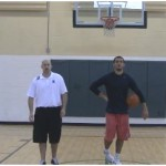 In and Out Behind the Back Dribbling Drill